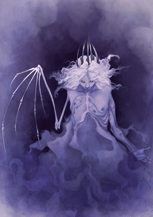 The Pallid King's True Form