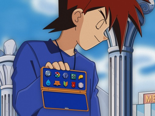 Kanto has only EIGHT badges. Dammit Gary...