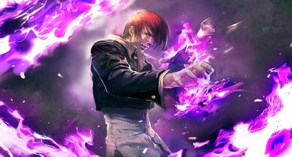 Weird hair, purple flames. The metrosexual and utterly psychotic badass.